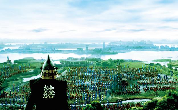 苫小牧の巨大セットで撮影! 壮大なスケールで描く映画『のぼうの城』