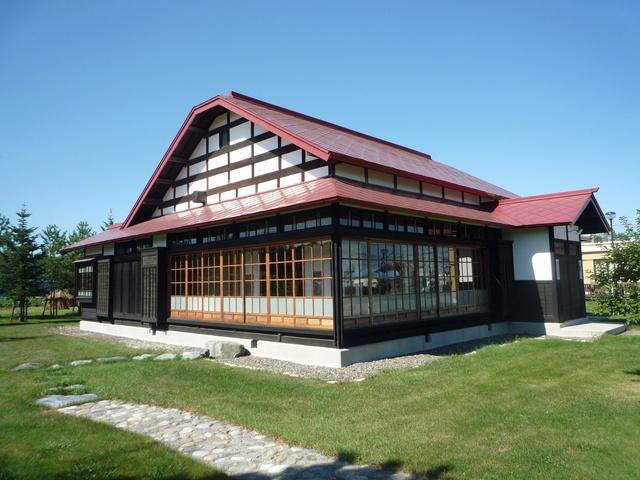 帯広の大平原に昭和初期ながら贅をこらした店舗兼住宅「旧川原邸」