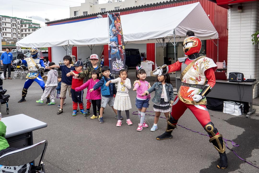 札幌を拠点に活動する道産子ヒーロー「ソーランドラゴン」って何者?