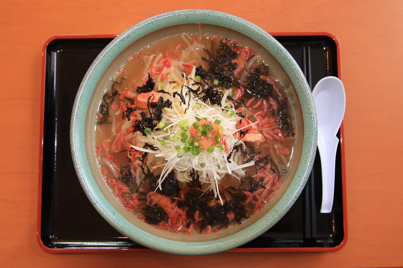 ラーメンにタラコが?岩内町のレストラン吉祥が発案した「吉祥麺」とは