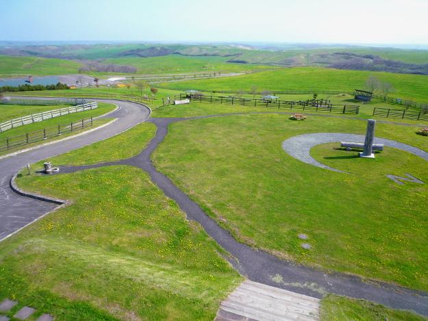 大牧場を360度見渡せる道東の絶景(2) 「多和平展望台」
