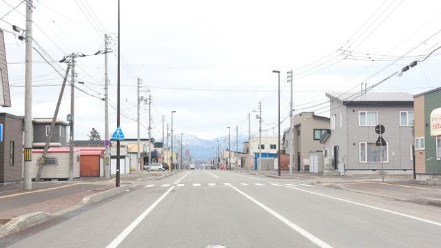 駅を降りたらアンモナイト達がお出迎え!昭和風に再現した天塩中川駅